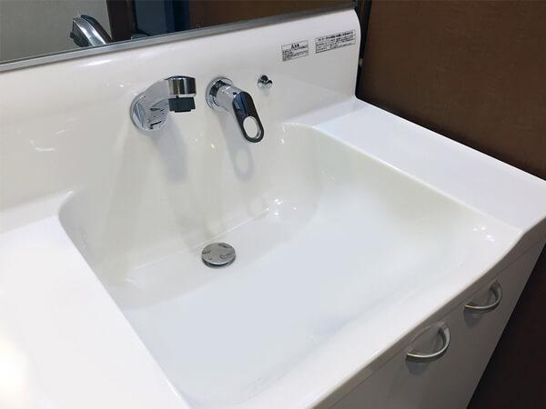 洗面台交換 T町 S様邸