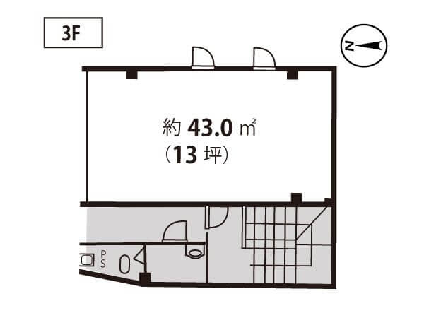 高槻駅前 白石ビル3階