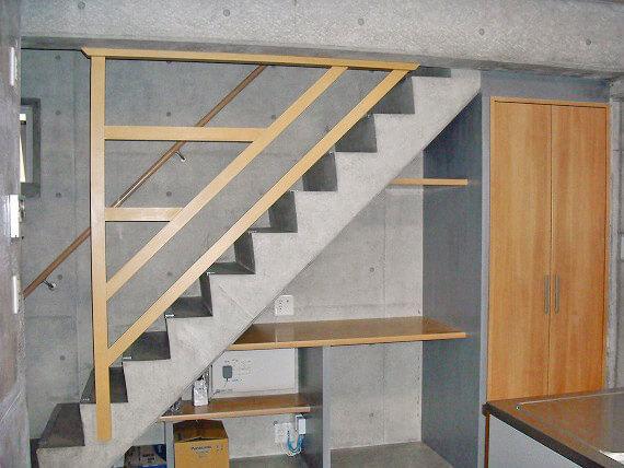 Y様邸階段