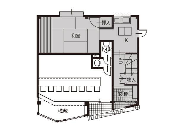 津之江町  1階賃貸店舗
