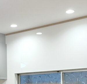 LEDダウンライトで明るくスッキリ!
