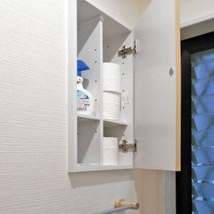 Y様邸トイレ埋込み収納2<施工後>